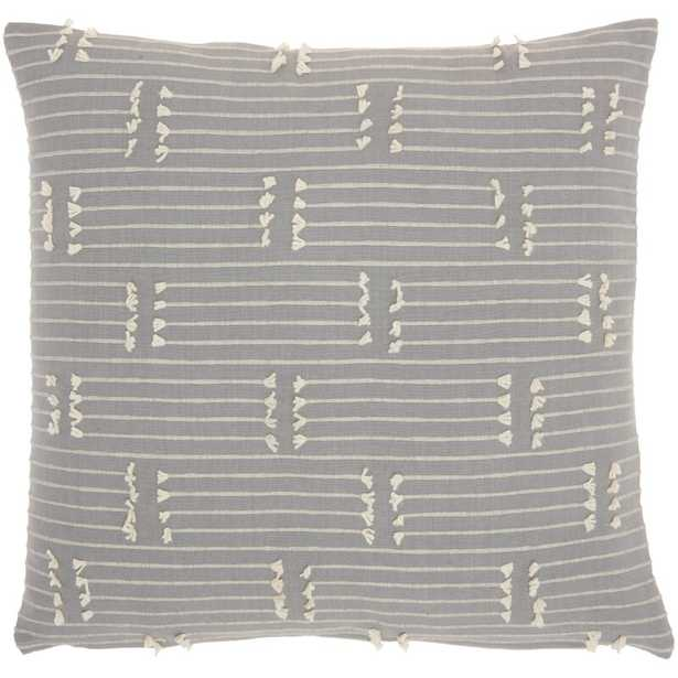 Jocelyn Ireland Pillow Grey - Wayfair