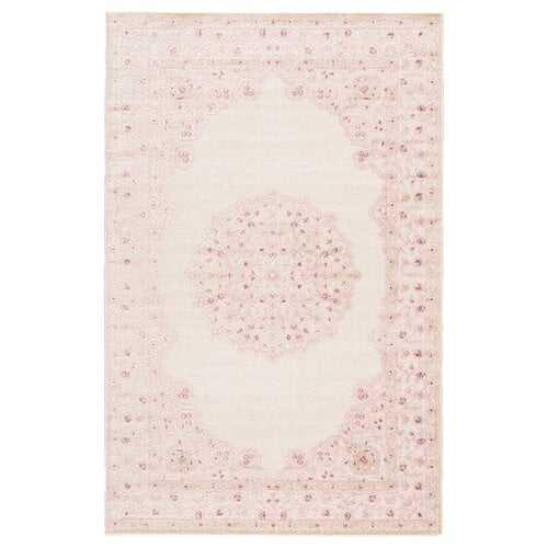 Fontanne Pink/White Area Rug - Wayfair