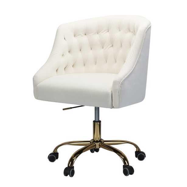 Louise Task Chair / Ivory - Wayfair