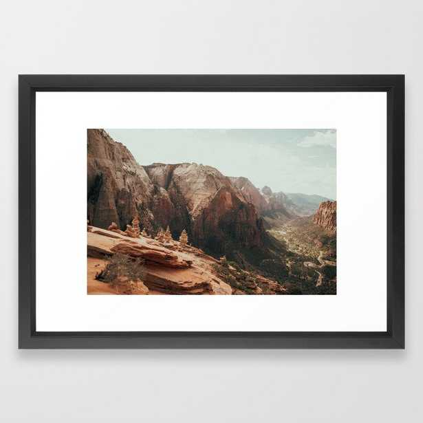 When We Remembered Zion Framed Art Print - Society6