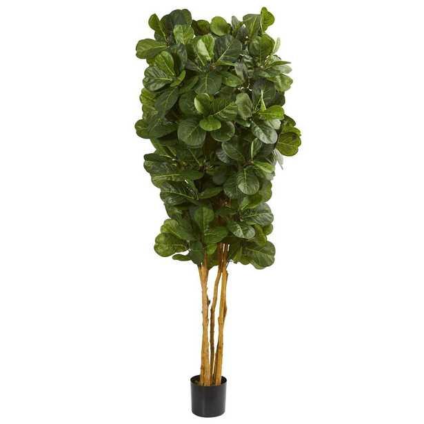 7-fiddle-leaf-fig-artificial-tree-beige-trunk - Fiddle + Bloom