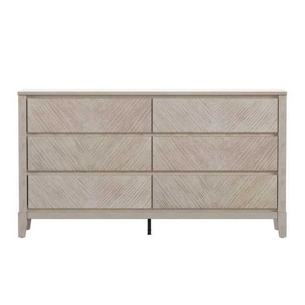 Nicolai 6 Drawer Double Dresser - Wayfair