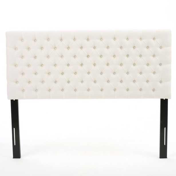 Bennett Queen Upholstered Panel Headboard - Wayfair