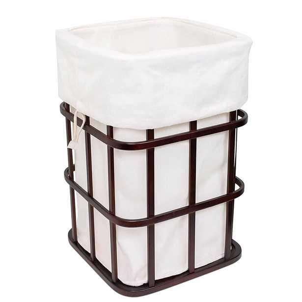 Bamboo Baby Square Laundry Hamper - Wayfair