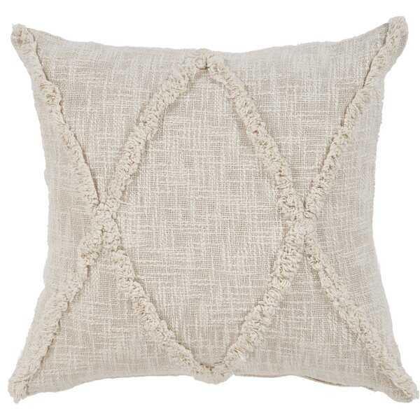 Lovettsville Cotton Throw  Pillow - Wayfair