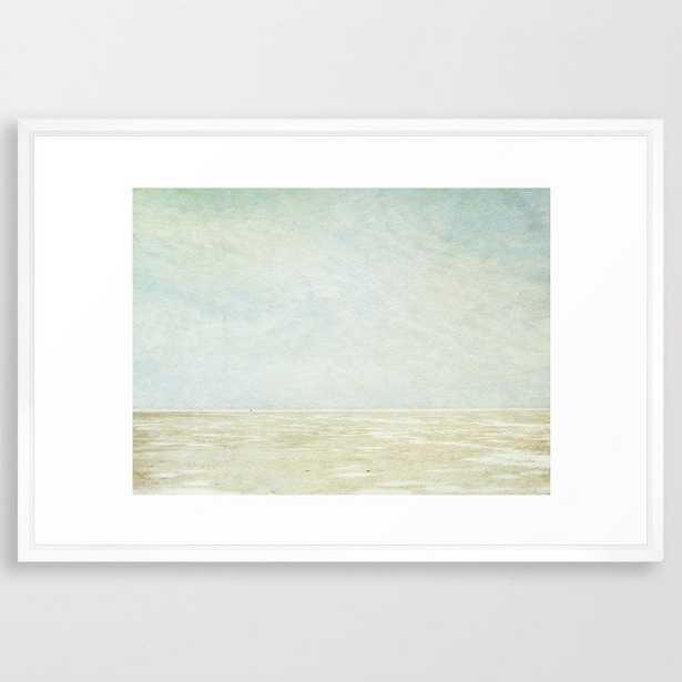 Beach Art Framed Art Print by secretgardenphotography [Nicola] - Society6