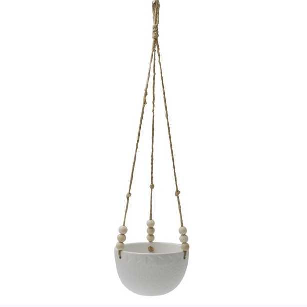 Veloz Ceramic Hanging Planter - Wayfair