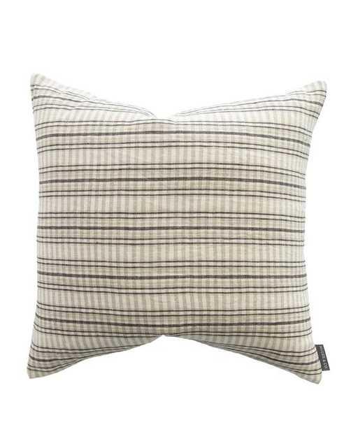 Mason Woven Stripe Pillow Cover - McGee & Co.
