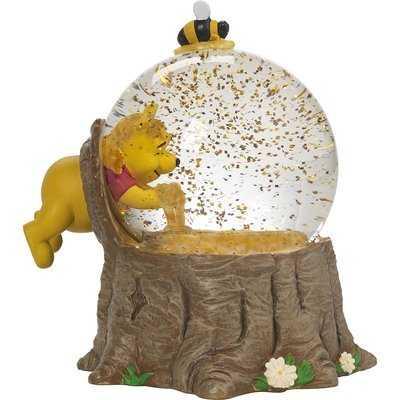 Disney Showcase Winnie the Pooh Musical Snow Globe For the Love of Hunny Resin and Glass Figurine - Wayfair