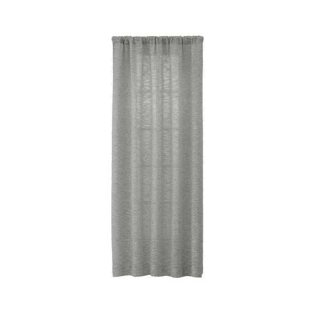 Vesta Textured Curtain Panel 50x84 - Crate and Barrel