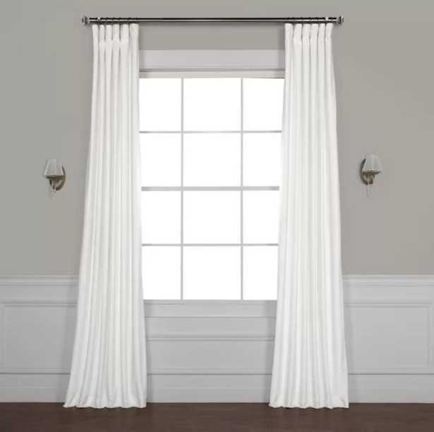 Livia Riverton Solid Max Blackout Thermal Rod Pocket Single Curtain Panel - Wayfair