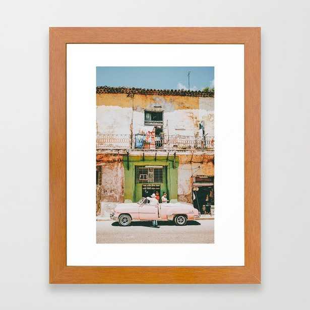 Summer in Cuba Framed Art Print - Society6