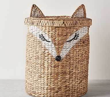 Shaped Critter Storage, Fox Toy Dump - Pottery Barn Kids