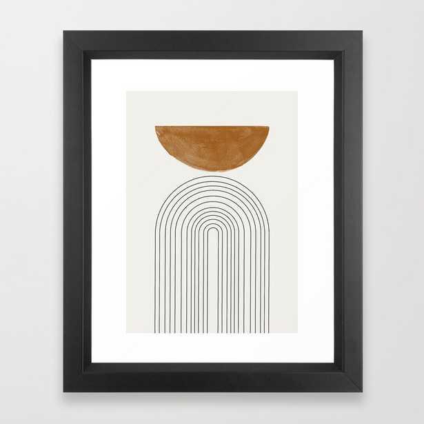 Minimalist Space Framed Art Print by TMSbyNIGHT - 10x12 - Society6