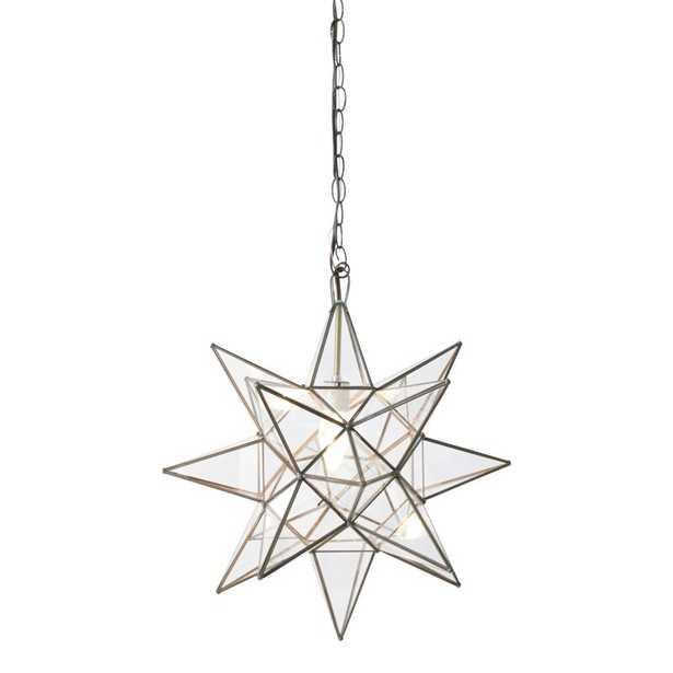 1-Light Single Star Pendant - AllModern