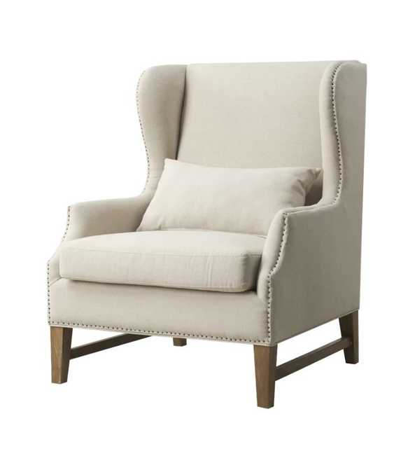 Meriem Wingback Chair - Wayfair