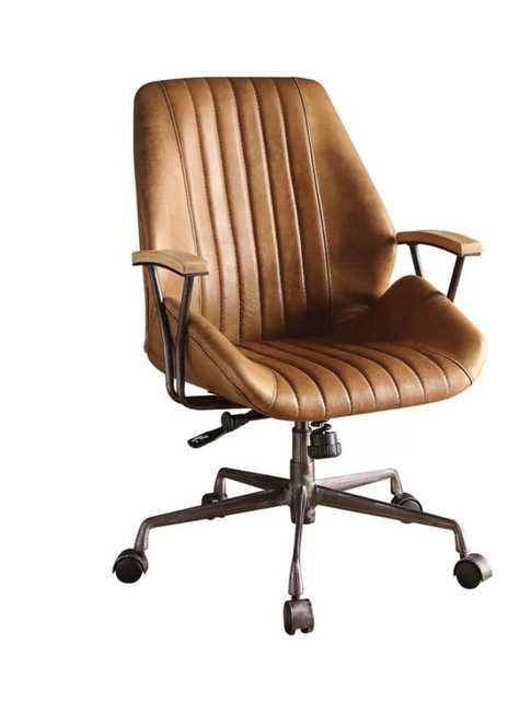 Kirbyville Genuine Leather Task Chair - Wayfair