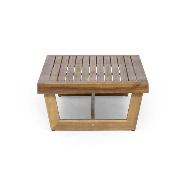 Pekalongan Wooden Coffee Table - Wayfair