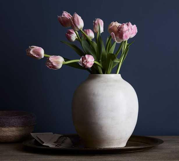 Quinn Ceramic Vase - Pottery Barn