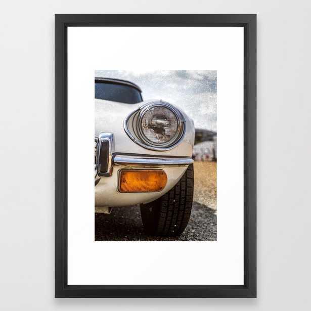 """Headlight"" - Classic cars lovers Framed Art Print - Society6"