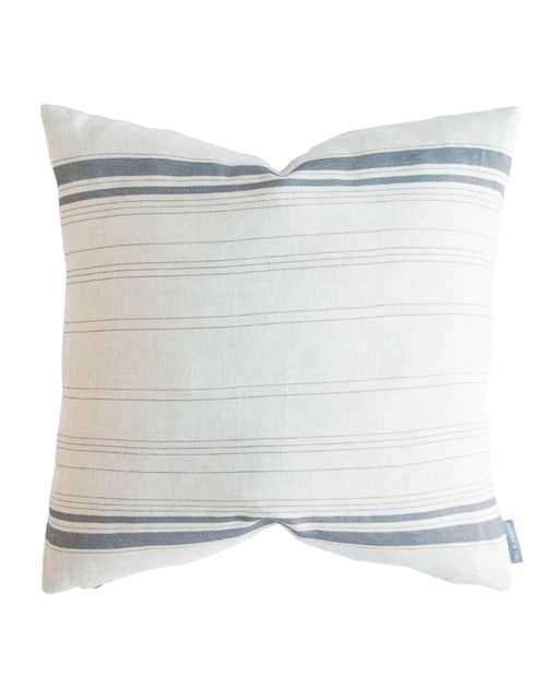 """FRENCH STRIPE PILLOW COVER 22"""" x 22"""" - McGee & Co."""