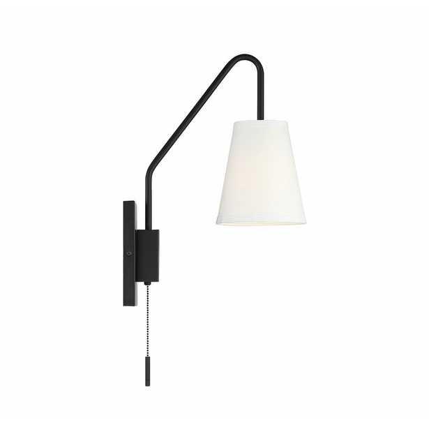 Keith 1-Light Plug-In Wallchiere - Wayfair