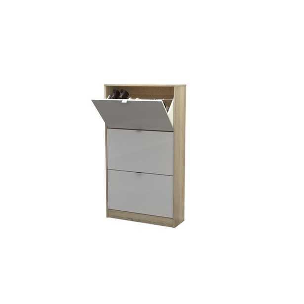 Ridgley 3 Drawer 18 Pair Shoe Storage Cabinet - Wayfair