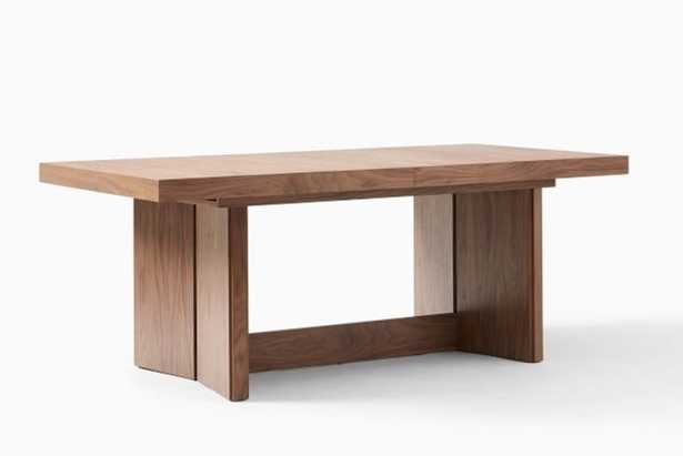 Modern Plinth Expandable Dining Table - West Elm