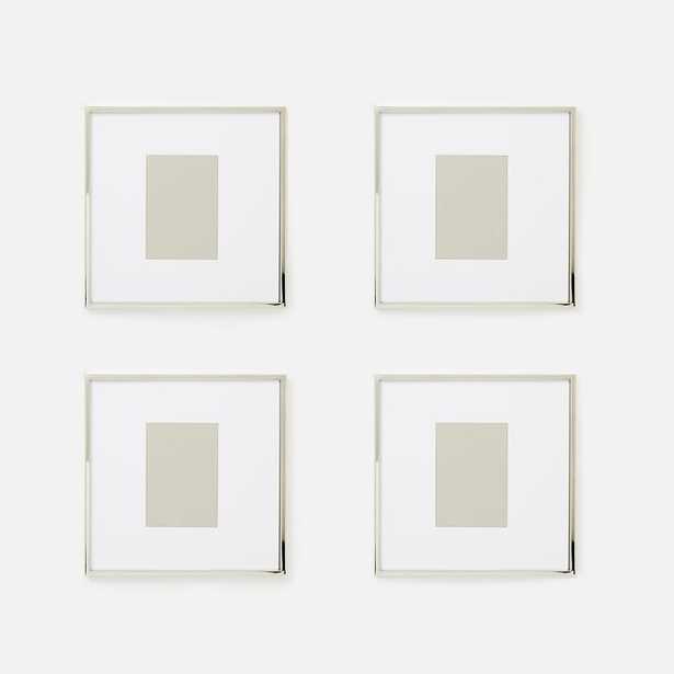 Metal Gallery Frames - Set of 4 - West Elm