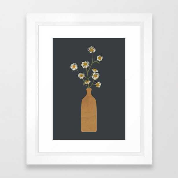 Flowers Framed Art Print - Society6