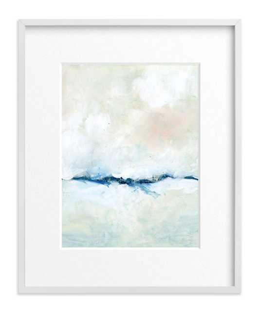 """solstice - framed artwork - 16"""" x 20"""" - with Matte - Minted"""