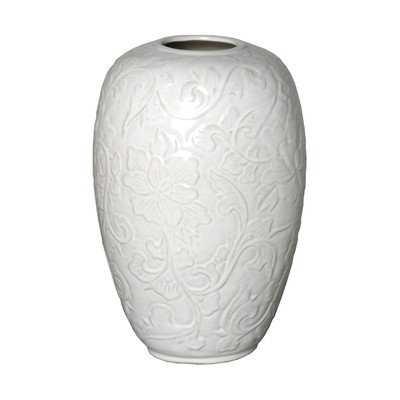Botanical Relief Vase - Wayfair