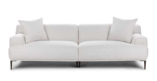 Abisko Quartz White 3 Seater - Article