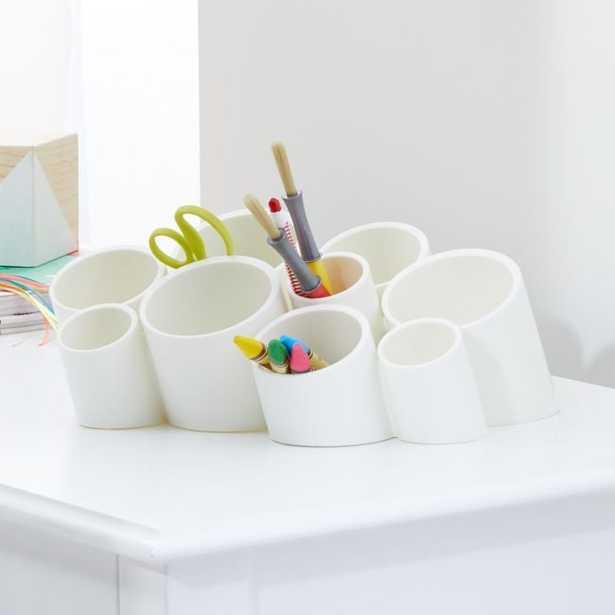 Boon White Stash Multi Room Organizer - Crate and Barrel