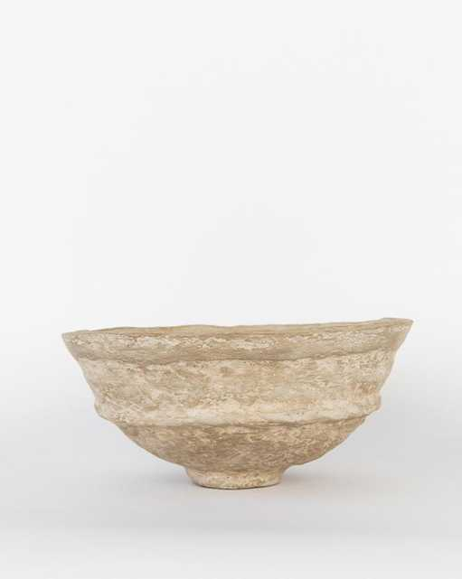 PAPER MACHE CRAFTED BOWL - Large - McGee & Co.