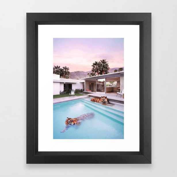 Palm Springs Tigers Framed Art Print - Society6