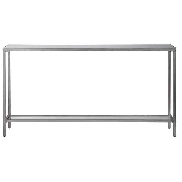 Hayley Silver Console Table - Hudsonhill Foundry