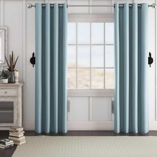 Blackout Thermal Grommet Curtain Panels (Set of 2) - Wayfair