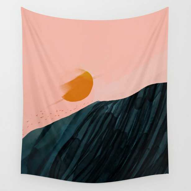 The Sunsets On New Horizons Wall Tapestry - Society6