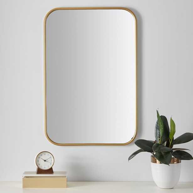 Metal Framed Rectangular Mirror - Pottery Barn Teen
