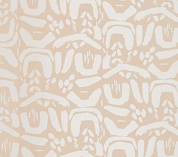 Chasing Paper Wall Paper Shaping Up, Pink - Pottery Barn Kids