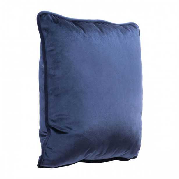 Velvet Pillow Blue - Zuri Studios