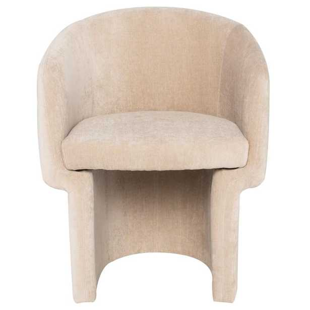 Clementine Dining Chair in Almond - Burke Decor