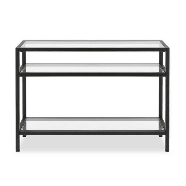 Pinehurst Console Table, Blackened Bronze - Wayfair