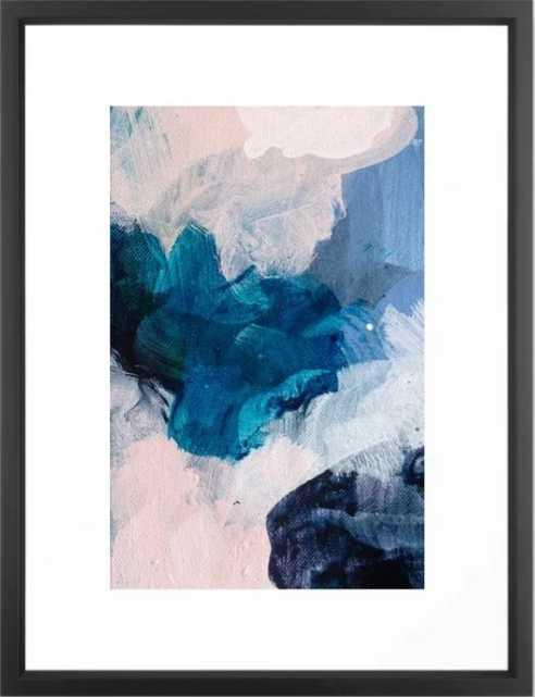Palette No. Twenty Five Framed Art Print - Society6