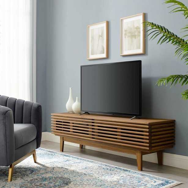 """Wigington TV Stand for TVs up to 70""""; Back in Stock Jan 1, 2021. - Wayfair"""