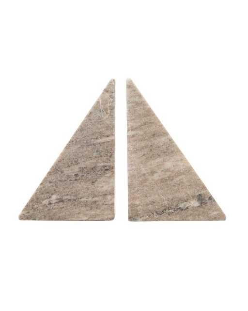 Marble Pyramid Bookends - McGee & Co.