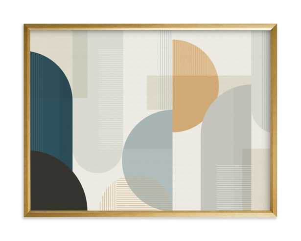 """Shuffle Series Downtown - 24"""" X 18"""" - Canvas - Minted"""