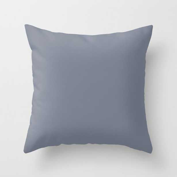 Valspar America Hazy Blue / Seattle Haze Blue Gray / Twinkle, Twinkle Blue Colors of the year 2019 Throw Pillow - Society6