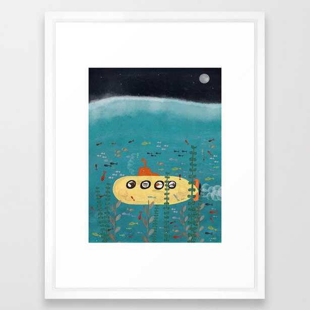 another little adventure Framed Art Print - Society6